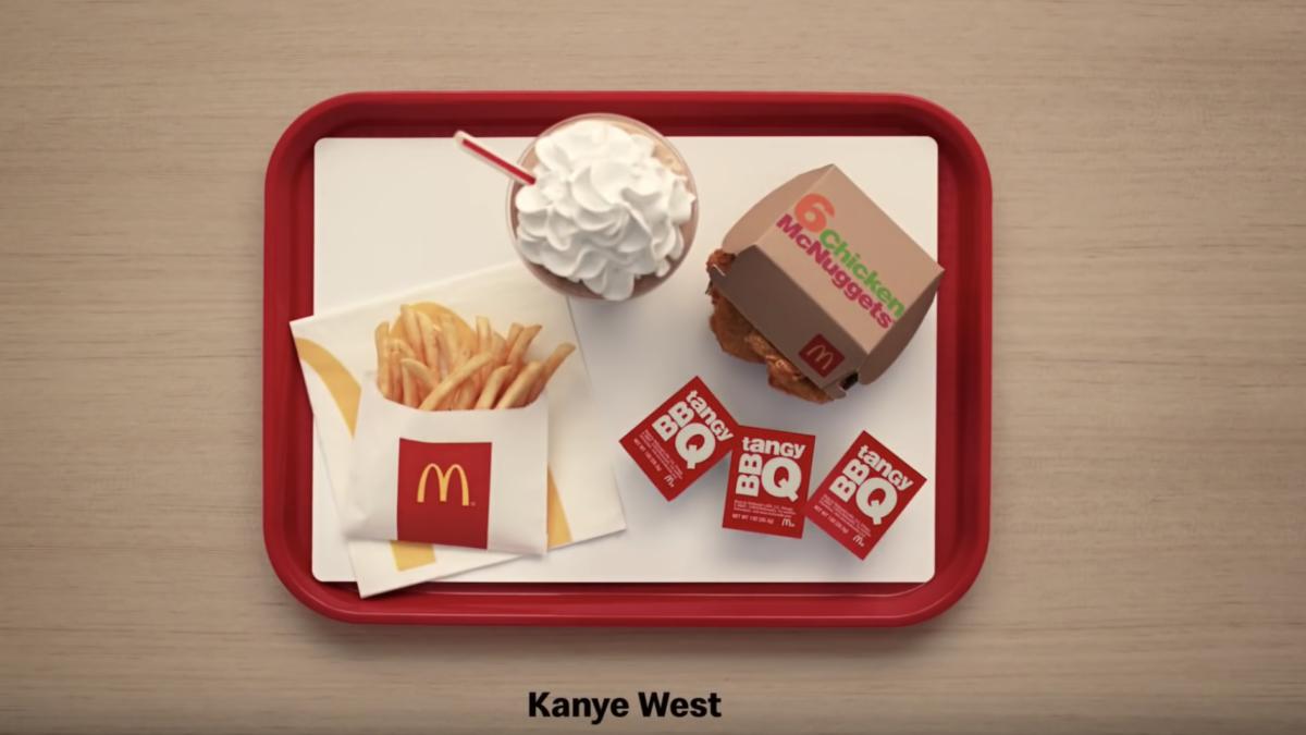 Kanye West's McDonald's Order